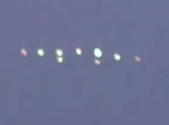 UFOs over the United Kingdom