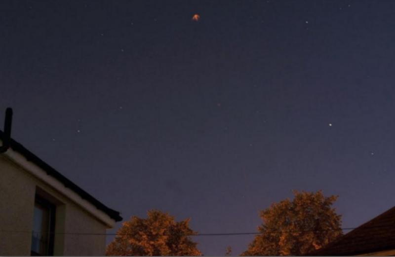 UFO over Glasgow