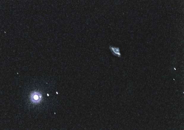 Harding, from Hastings, captured the picture while photographing the moons of Jupiter