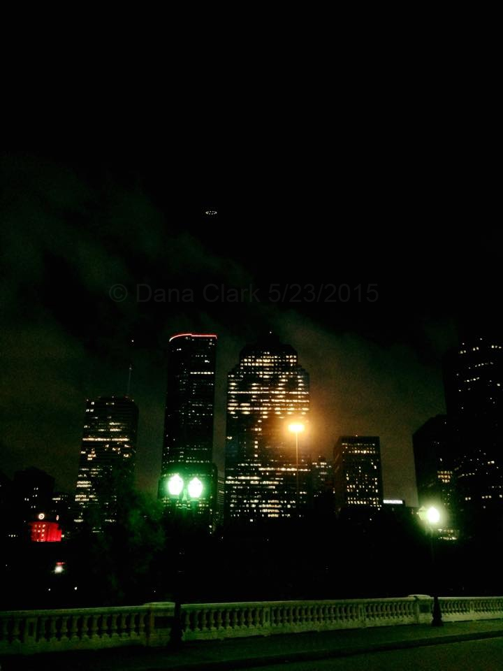 UFO over Houston, Texas