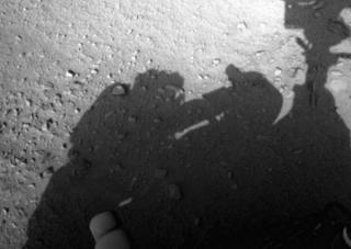 Mars Rover shows Human like Creature