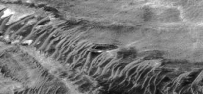 Flying Saucer on Mars