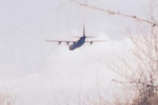 Caroline Collins caught the plane on camera near Warrenpoint