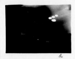 Air Force files from a 1952 incident in which a Salem man captured photographs of four bright lights in the sky, which might have been the reflection of lamps in a window.