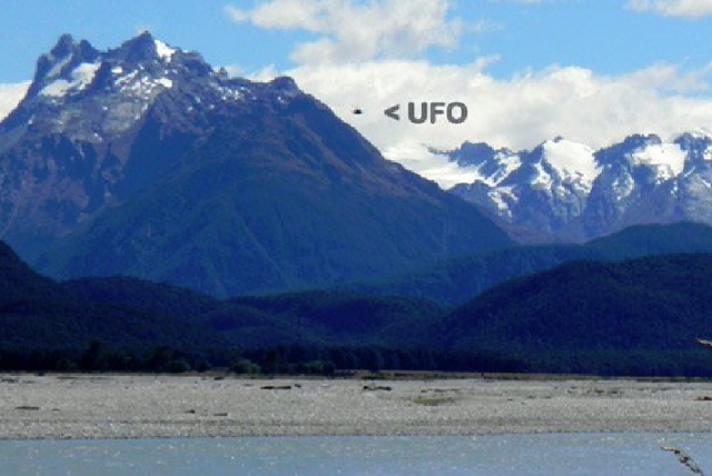 Unexplained: A picture taken by Queenstown's Verdun Waghorn
