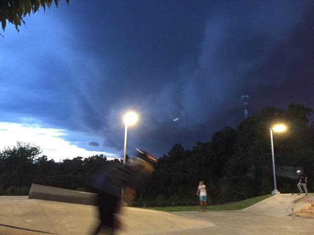 UFO over Virginia