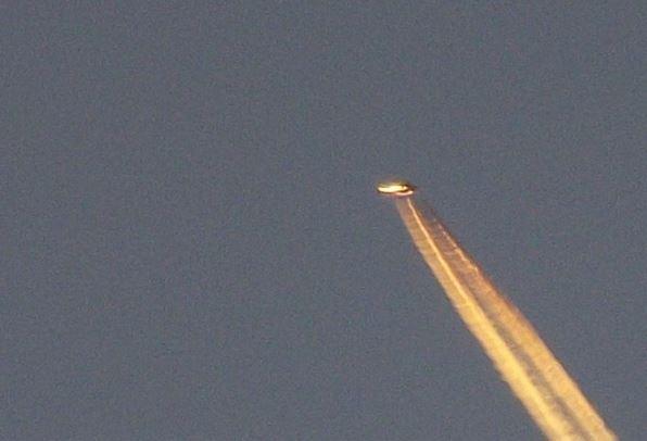 UFO over Devon, UK