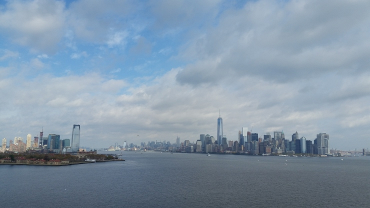 UFO near Liberty Island