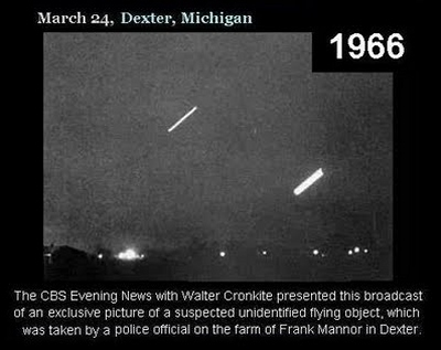 1966 - UFO Photograph Dexter, Michigan USA