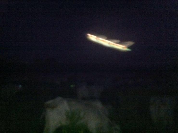 UFO over Bolivia
