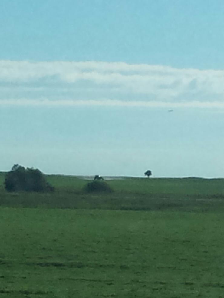 UFO over Saskatchewan, Canada