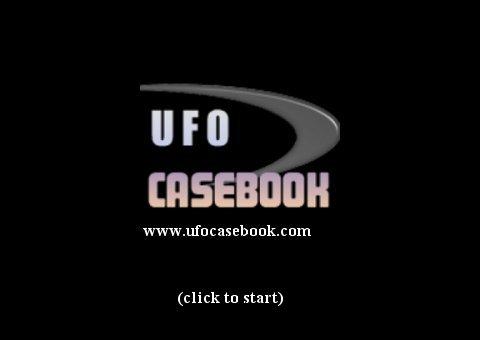 UFO Casebook Splash