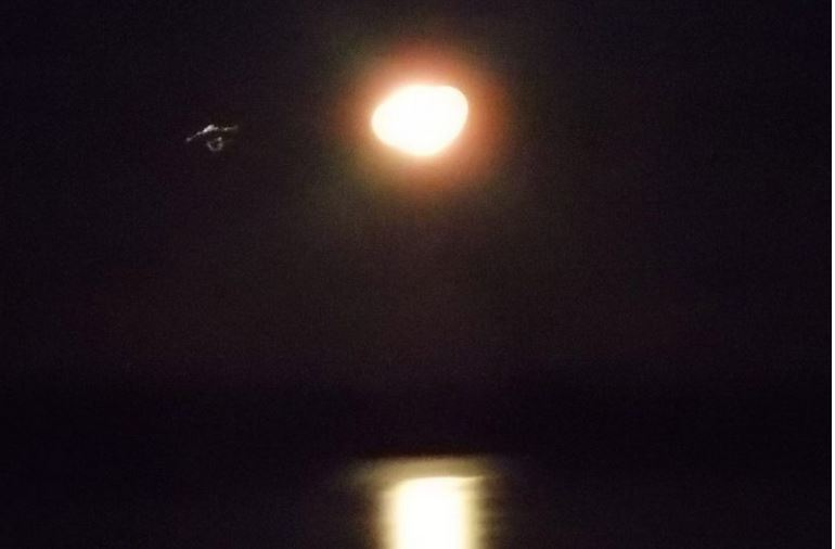 UFO over Random Island