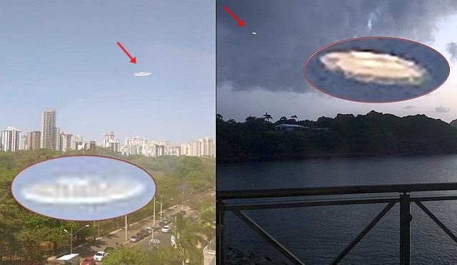 UFOs over Brazil and Saint Lucia