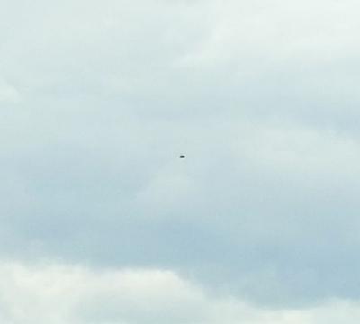 UFO over Devon, England - 01-04-17