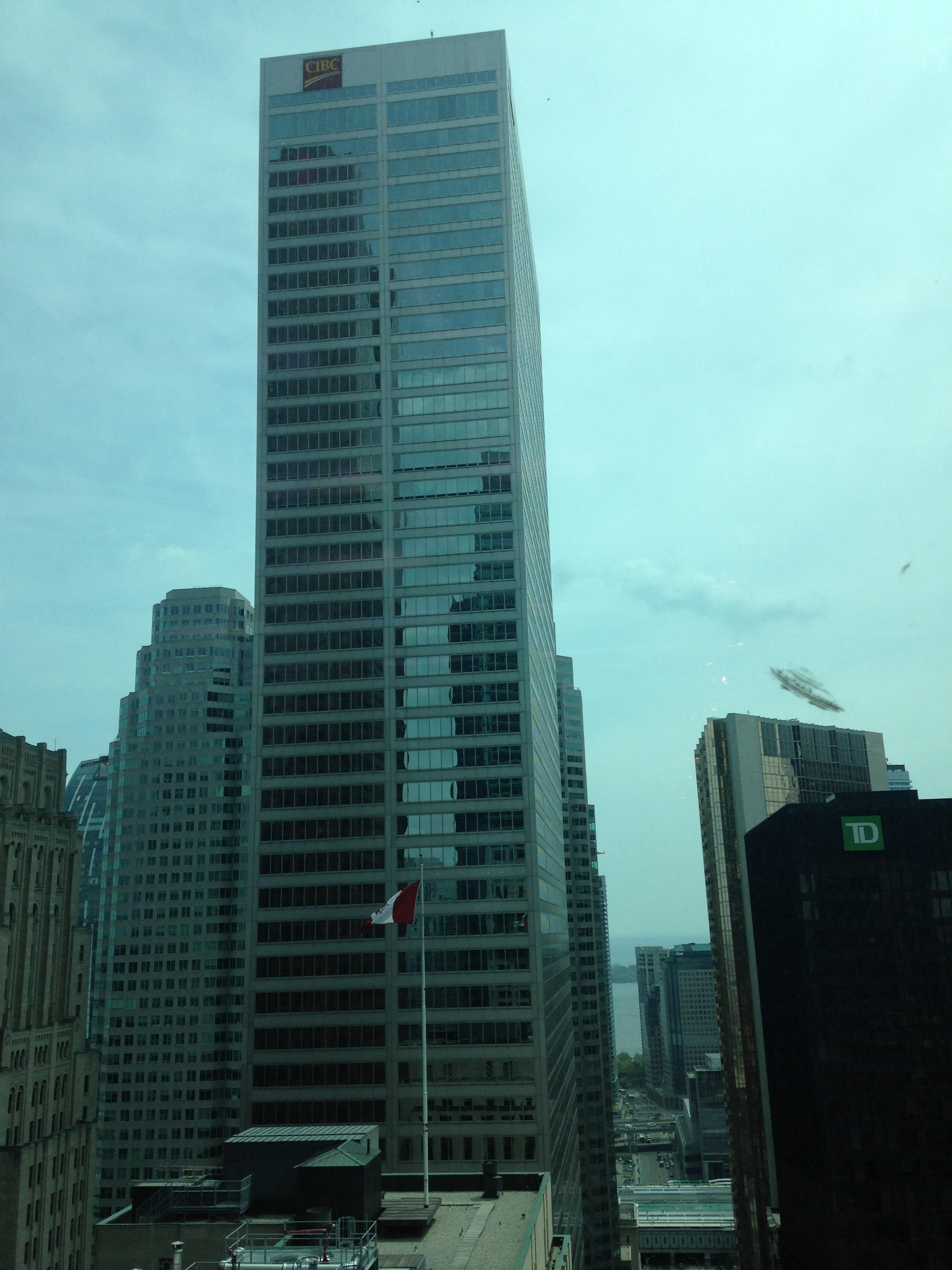 UFO over Downtown Toronto