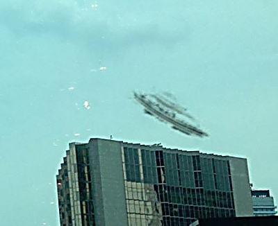 UFO is Accidently Photographed over Downtown Toronto