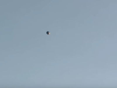UFO Seen Floating over San Gabriel Valley