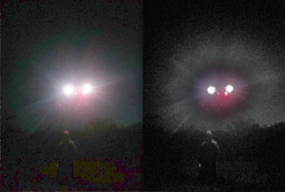 Cellphone Picture of UFO