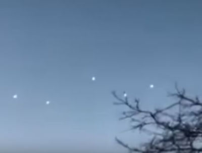 Video of Mass UFO Sighting