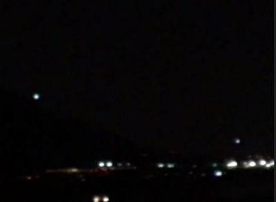 UFOs over Oro Valley, Arizona