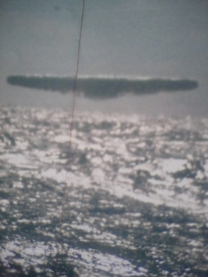 Photo of UFO taken from Submarine