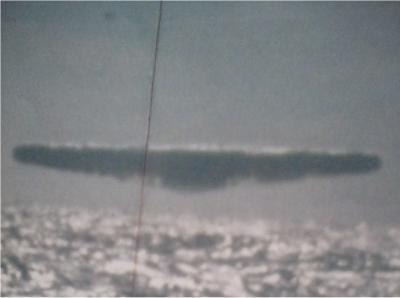 UFO over Ocean