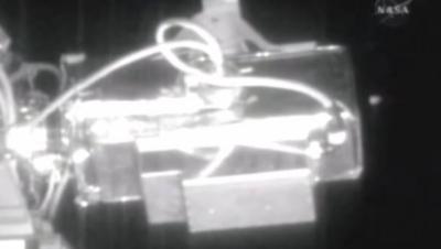 UFOs near ISS