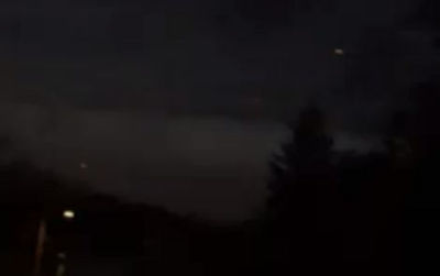 UFOs over Massachusetts
