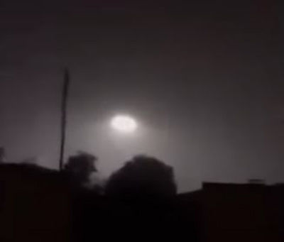 UFOs videotaped over Baja, California, Mexico