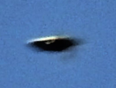 UFO over Newton Abbot, Devon, England