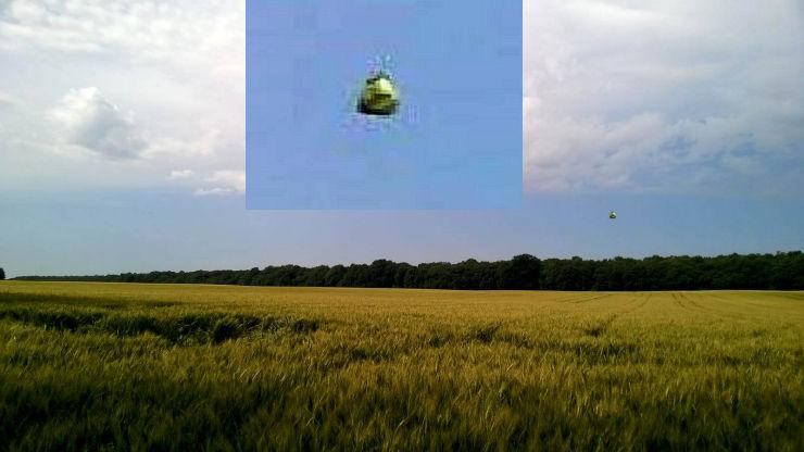 UFO over Perugia, Italy