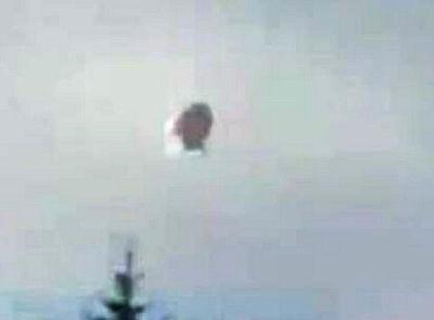UFO over Quebec, Canada