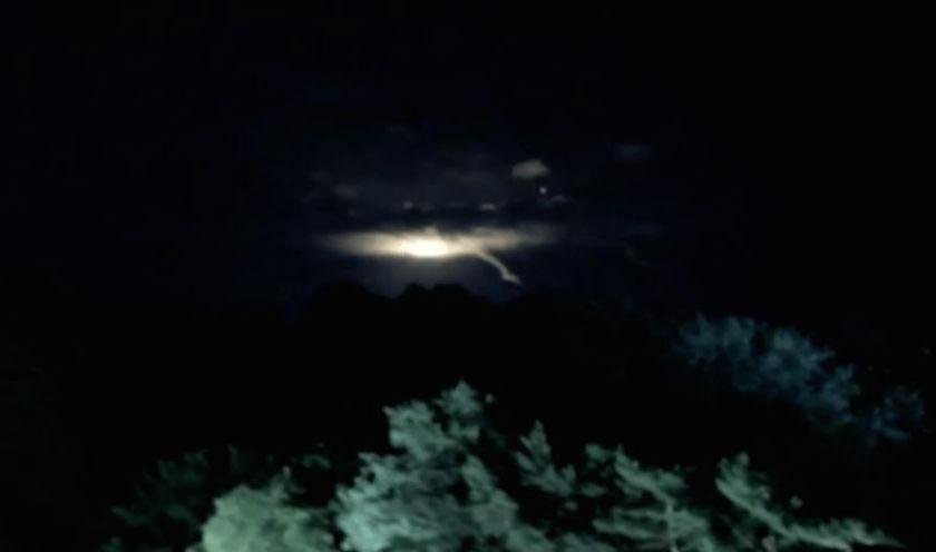 UFO over Toronto Sky