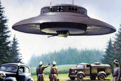 Depiction of German UFO