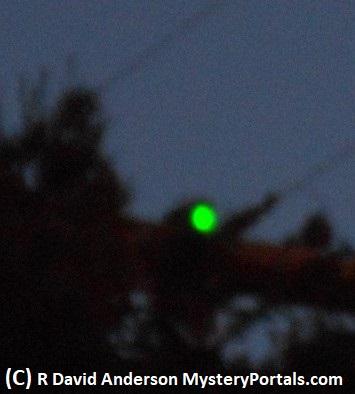 UFO over California