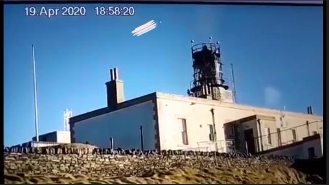 UFO over Shetland, UK