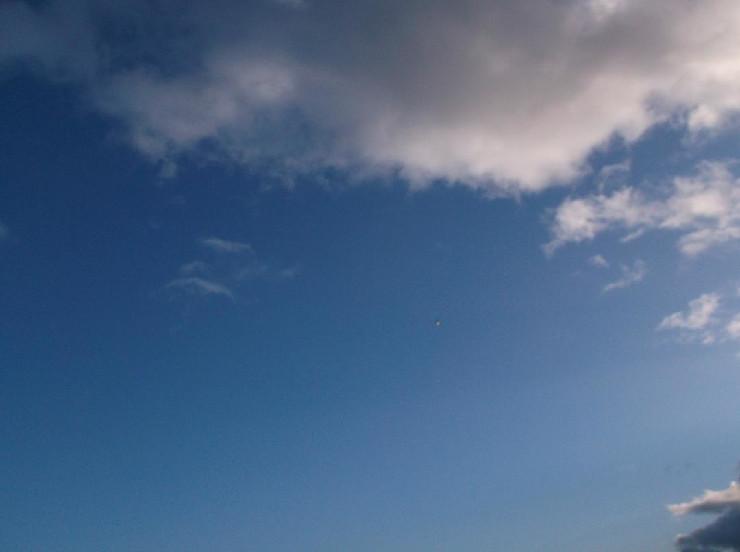 UFO over Teignmouth