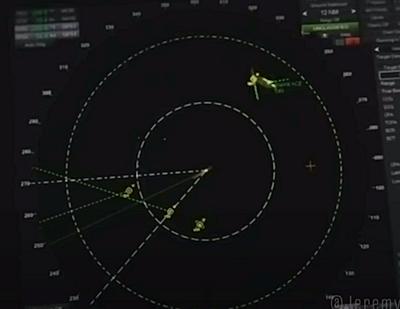 UFO on Radar