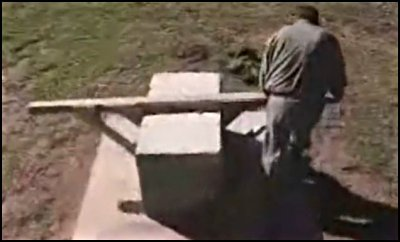 Man shows how ancient structures were created in his backyard