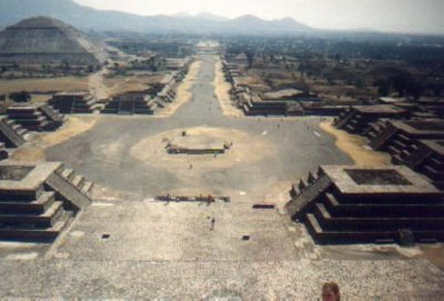 Teotihuacan Structure - Avenue of the Dead