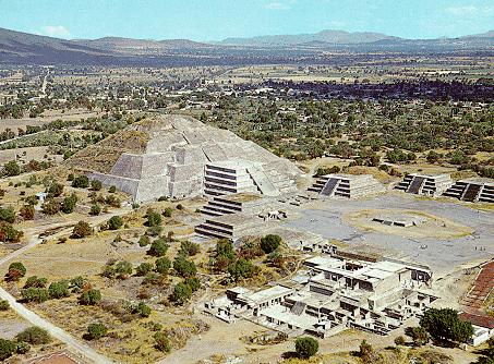 Teotihuacan Structure - Pyramid of the Moon
