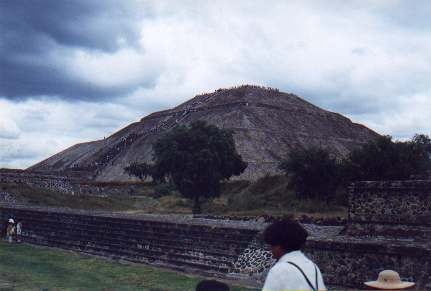 Teotihuacan Structure - Pyramid of the Sun