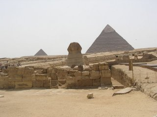 Egyptian Pyramid - The Sphinx