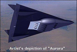 UFO or Aurora