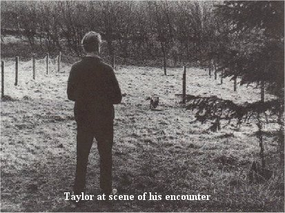 Taylor at scene of encounter