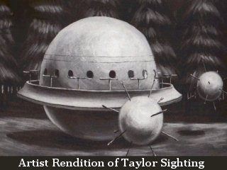 Artist Depiction of Taylor Encounter