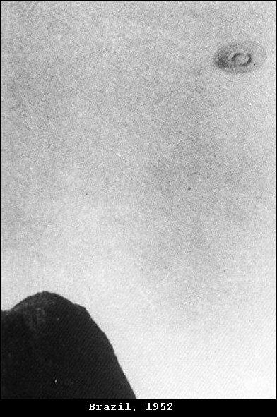 Objeto semejante fotografiado en Barra da Tijuca (brasil) 1952
