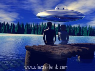 Depiction of UFO Sighting