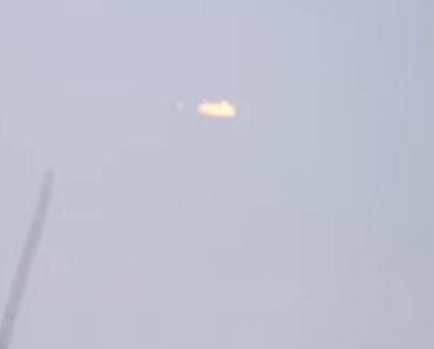 UFO over Bulgaria